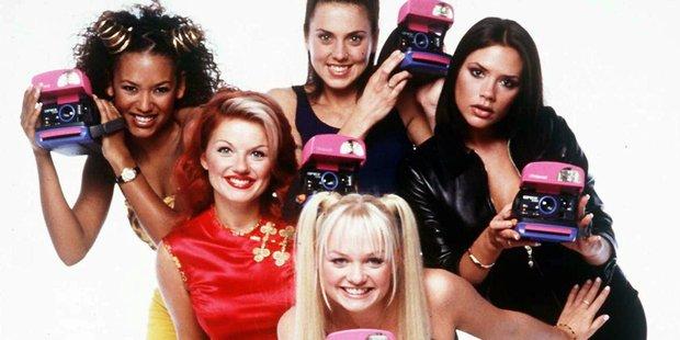 The Spice Girls circa 1997. Photo / AP