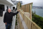Peter Aitchison said the fence battle had gone on for 20 years, its roots in a strange old struggle between a neighbour and a long-gone property developer. Herald Photograph by Mark Mitchell