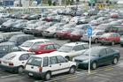 The average revenue per carpark space increased by 11.6 per cent. Photo / File