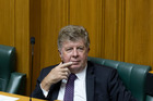 Maurice Williamson during question time in Parliament in 2015. PHOTO/ Mark Mitchell