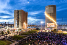 Silo Park will host a new Auckland New Year's festival, Wondergarden.