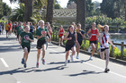 LAKESIDE JAUNT: The annual Round the Lake Relay for secondary schools has grown both in stature and size since the first around Virginia Lake in Whanganui in July, 1978.