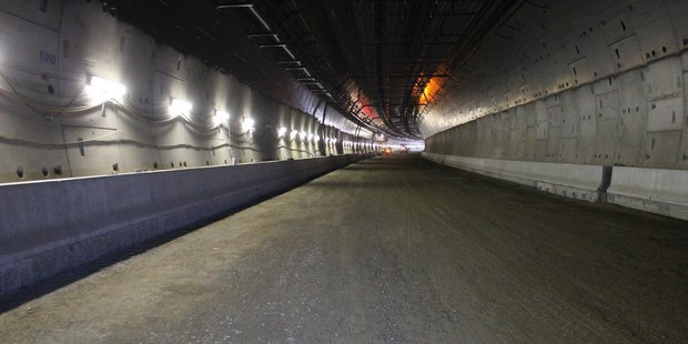 Twin tunnels at Waterview will be open early next year.