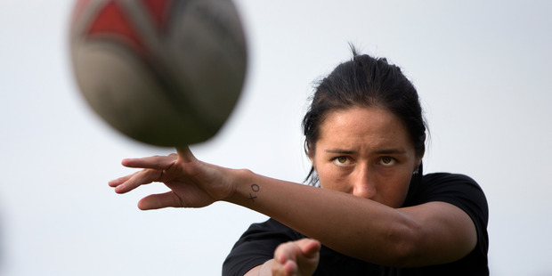 New Zealand women sevens team captain Sarah Goss will make her debut for Volcanix on Sunday. PHOTO/FILE