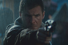 Harrison Ford as Deckard in a scene from the 1982 film Blade Runner movie.