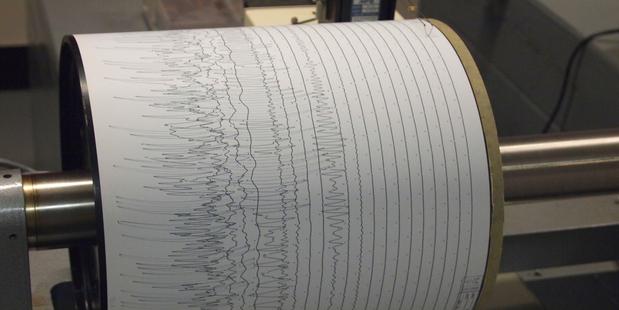 A 5.7 magnitude quake has struck of the East coast of the North Island. Photo/ file.