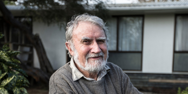 Peter Lewis, a landlord who wants a new DIY regime for P-testing, at one of his rental properties. Photo/ Michael Craig