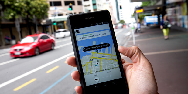 Uber has recently come under fire for ot requiring its drivers to have passenger endorsements Photo / NZH