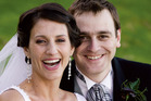 Lecretia Seales with her husband Matt Vickers on their wedding day in 2006. Vickers' book