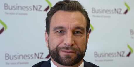 Business NZ chief executive Kirk Hope, the former partner of Angela Stone. Photo / Mark Mitchell