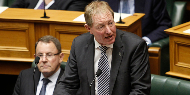 Local Government Minister Nick Smith during question time in Parliament, Wellington. Photo / Mark Mitchell