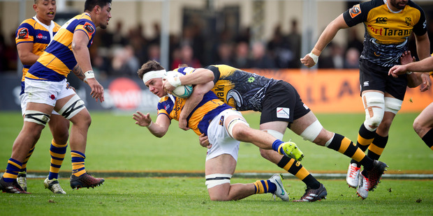 CLOSE DEFEAT: Hugh Blake, pictured against Taranaki last week, was a key player for Bay of Plenty in the loss to Counties Manukau. PHOTO: File