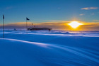 When the sun goes down at Antarctica, it's not coming up for a while. Photo / Handout photo from National Oceanic and Atmospheric Administration