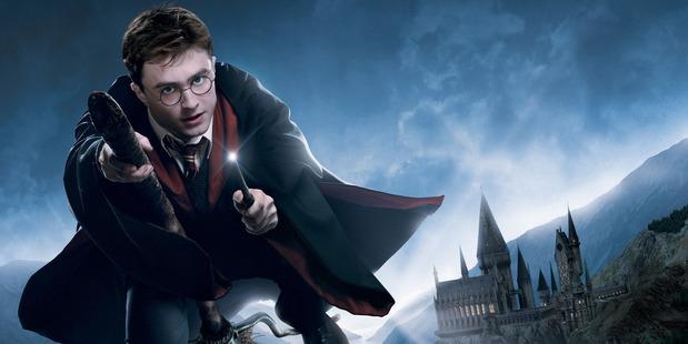Daniel Radcliffe starred as Harry Potter. Photo / NZ Herald