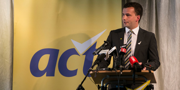 Act leader David Seymour.