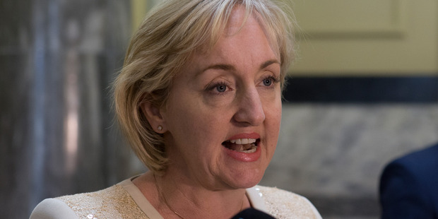Broadcasting Minister Amy Adams : It's up to media companies to decide how they react to change. Photo / Mark Mitchell.