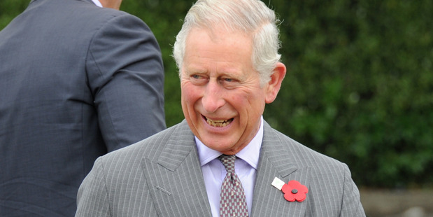 Prince Charles on his visit to New Zealand in 2015. Photo/ SNPA