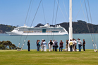 Cruise ships like this one berthed off Waitangi brought 101,300 visitors to Northland in the 2015/16 season and injected $20 million into the region's economy.