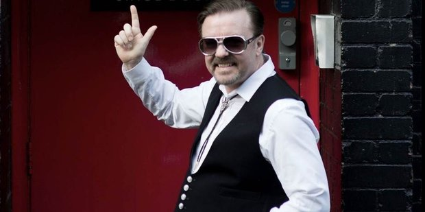 Loading Ricky Gervais as David Brent in the film, David Brent: Life on the Road.