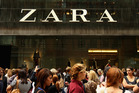 Work is well advanced on New Zealand's first Zara store.