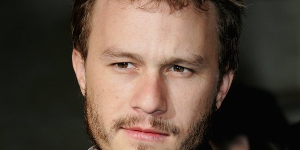 Late actor Heath Ledger. PHOTO/GETTY IMAGES