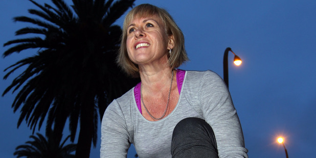 Napier's Toni Torr has begun the seven-month journey of preparation for the Harbour to Hills triathlon which she won a place in. Photo / Paul Taylor