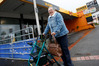 Suzie Bliss, who lives at nearby Radius Rimu Rest Home, does not do online banking and is worried about Kamo being left without banks. Photo / Michael Cunningham