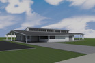 An image of the  Dargaville Sportsville complex, which has reached the funding level required to start construction.