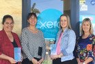 BDO Northland team members Kylie Harper holding the award (left), Angela Edwards, Tracey Glentworth and  Robyn Terlesk.