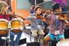 Sistema musicians rehearse for the exhibition opening performance. Photo / Gina Williams