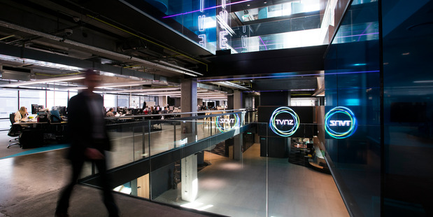 Guests at TVNZ's building refurbishment opening got an idea why the job grew from just over $30 million to $60.3 million.