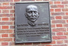 Sun Yat Sen Plaque at London City Law School. Photo / Supplied