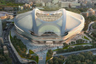 The future of sports stadium architecture.