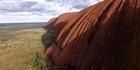 Watch: Watch: Never before seen drone footage of Uluru