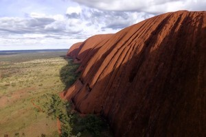 Watch: Never before seen drone footage of Uluru