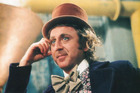 Gene Wilder stars as Willy Wonka in the film, Willy Wonka and the Chocolate Factory.