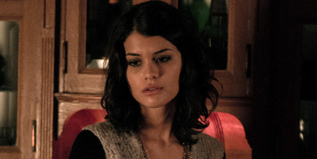 "A mysterious girl (Sofia Black-D'Elia) mistakes Nasir ""Naz"" Khan for a cab and joins him, she if later found stabbed to death. Photo / HBO"