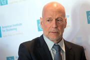 Actor Bruce Willis is known for his trademark dome. Photo / Getty