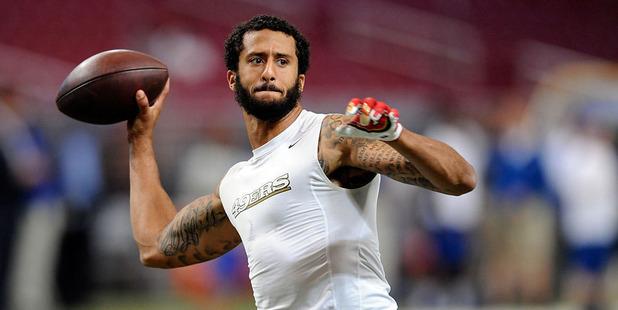 San Francisco 49ers quarterback Colin Kaepernick. Photo /Getty