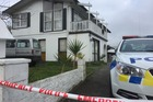 Waikato police have cordoned off this house after a man was found dead last night. Photo / Supplied