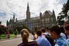 Georgetown University sold slaves in the 19th century to help pay off its debts. Picture / AP