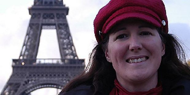 Erika Labrie changed her surname to Eiffel after a commitment ceremony in 2007. Photo / Supplied