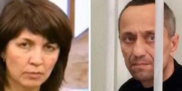Elena Popkov said she still loves her serial killer husband Mikhail. Channel 201/The Siberian Times. Photo / Supplied