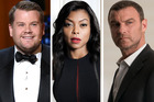 Taraji P. Henson, James Corden and Liev Schreiber will present at the upcoming Emmy awards. Photos / AP, Supplied
