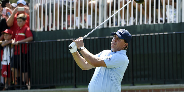 Phil Mickelson. Photo / AP