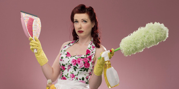 Overall, women did an average of two hours more housework a day than men over the past 50 years. Photo / Getty