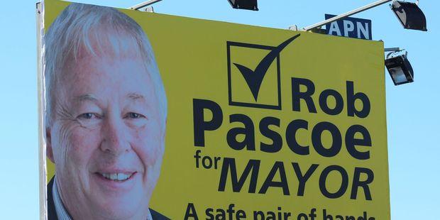 Rob Pascoe's billboard.