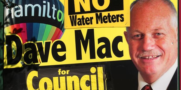 Dave Mac's sign.