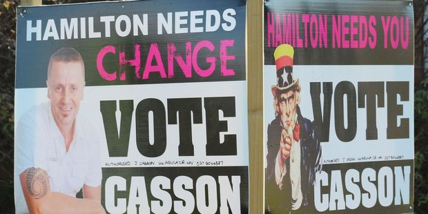James Casson's signs