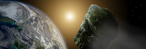 Earth had a 'close shave' with asteroid